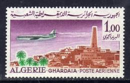 """Algérie P. A. N° 15 XX  Avion """"Caravelle"""" Vues : 1 D. Ghardaïa, Sans Charnière, TB - Poste Aérienne"""