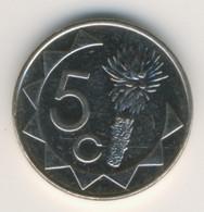 NAMIBIA 2012: 5 Cents, KM 1 - Namibia