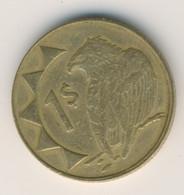 NAMIBIA 2006: 1 Dollar, KM 4 - Namibia