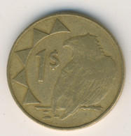 NAMIBIA 1998: 1 Dollar, KM 4 - Namibia