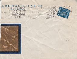 FINLANDE SEUL SUR LETTRE POUR LA FRANCE 1938 - Cartas