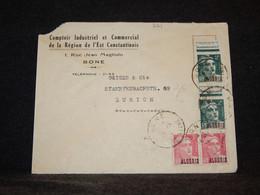 Algeria 1910's Cover To Switzerland__(821) - Storia Postale
