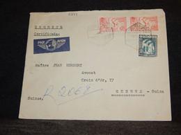 Algeria 1963 Alger Air Mail Cover To Switzerland__(2284) - Poste Aérienne