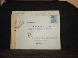 Argentina 1916 Censored Cover To Switzerland__(669) - Cartas