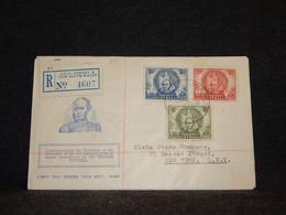 Australia 1946 Thomas Mitchell FDC__(33) - Briefe U. Dokumente