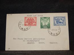 Australia 1946 Cassilis Cover To UK__(3178) - Briefe U. Dokumente