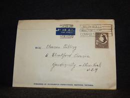 Australia 1950's Souvenir Booklet To USA__(126) - Briefe U. Dokumente