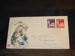 Australia 1958 Peace On Earth Cover__(4106) - Briefe U. Dokumente
