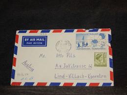 Australian Antarctic Territory 1957 Port Augusta Air Mail Cover To Austria__(3182) - Lettres & Documents