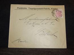 Austria 1900 Kladno Poldihutte Business Cover__(2420) - Storia Postale