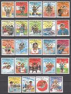 Tchad 1972 Mi 462-485 MNH SUMMER OLYMPICS MUNCHEN - GOLD MEDAL WINNERS MEXICO 1968 - Summer 1972: Munich