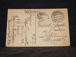 Austria 1918 Wien 105 Feldpost Card__(446) - Lettres & Documents