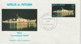 Wallis FDC 1984 Bateaux PA 132 - FDC