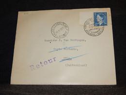 Belgium 1953 Bruxelles Köln Retour Cover__(2121) - Cartas