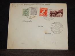 Belgium 1953 Bruxelles-Lille Sabena Helipost Cover__(2007) - Cartas