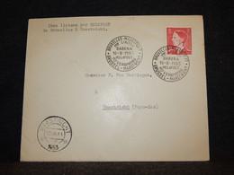 Belgium 1953 Bruxelles-Maastricht Helipost Cover__(411) - Cartas