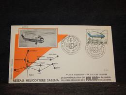 Belgium 1957 Bruxelles Sabena Cover__(2085) - Cartas