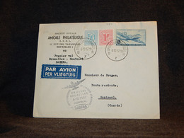 Belgium 1957 Bruxelles-Montreal Sabena Cover__(428) - Cartas