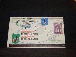 Belgium 1957 Sabena Bruxelles-Paris Cover__(1776) - Cartas