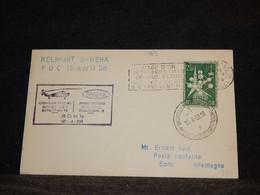 Belgium 1958 Sabena Bruxelles-Bonn Cover__(1769) - Cartas
