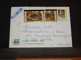 Benin 1992 Air Mail Cover To Norway__(659) - Benin - Dahomey (1960-...)