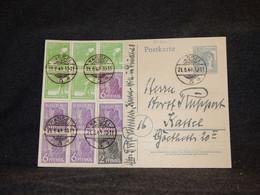 Bizone 1948 Kassel 12pf Grey Stationery Card__(3430) - Zona Anglo-Américan