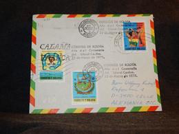 Bolivia 1979 Air Mail Cover To Germany__(1273) - Bolivia