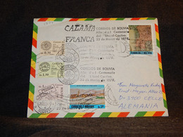 Bolivia 1979 Air Mail Cover To Germany__(1274) - Bolivia
