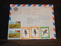 Bolivia 1983 Lapaz Air Mail Cover To Germany__(1014) - Bolivia