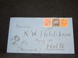 Brazil 1927 Registered Cover To Denmark__(112) - Briefe U. Dokumente