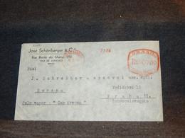 Brazil 1934 Rio De Janeiro Meter Mark Cover__(3140) - Briefe U. Dokumente