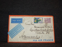 Brazil 1936 Air Mail Cover To Germany__(203) - Airmail