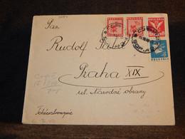 Bulgaria 1946 Sofia Cover To Czechoslovakia__(3084) - Briefe U. Dokumente