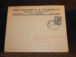 Bulgaria 1948 Sofia Pentscheff Dobreff Business Cover__(3089) - Briefe U. Dokumente