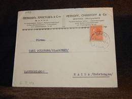 Bulgaria 1948 Vorna Cover To Germany__(3083) - Briefe U. Dokumente