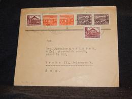 Bulgaria 1949 Cover Czechoslovakia__(3137) - Briefe U. Dokumente