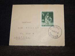 Bulgaria 1957 Cover To Denmark__(614) - Briefe U. Dokumente