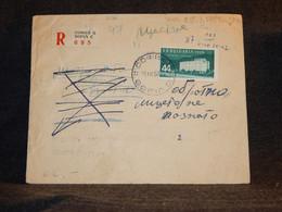 Bulgaria 1958 Sofia C Registered Cover__(3126) - Briefe U. Dokumente