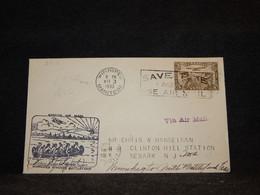 Canada 1930 Winnipeg North Battleford Air Mail Cover__(2102) - Aéreo