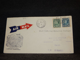 Canada 1931 Fort McMurray Embarras Portage Air Mail Cover__(2091) - Airmail