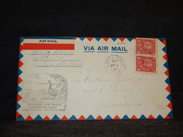 Canada 1932 Lac La Ronge Prince Albert Air Mail Cover__(2088) - Aéreo