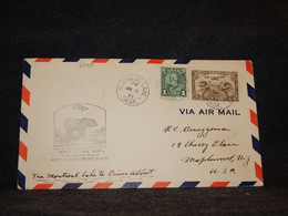 Canada 1932 Montreal Prince Albert Air Mail Cover__(2089) - Aéreo