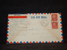 Canada 1932 Prince Albert Lac La Ronge Air Mail Cover__(2087) - Airmail