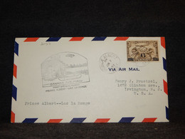 Canada 1932 Prince Albert Lac La Ronge Air Mail Cover__(2097) - Aéreo