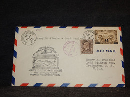 Canada 1933 Havre St.Pierre Port Menier Air Mail Cover__(2092) - Aéreo