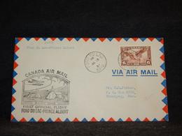 Canada 1937 Fond Du Lac Prince Albert Air Mail Cover__(2098) - Aéreo