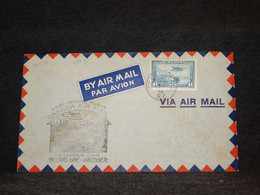 Canada 1938 Williams Lake Vancouver Air Mail Cover__(2103) - Aéreo
