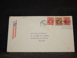 Canada 1946 Montreal Saint-Ande-lez-Bruges Air Mail Cover__(2095) - Aéreo