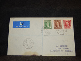 Canada 1937 Ottawa Air Mail Cover To UK__(2781) - Aéreo