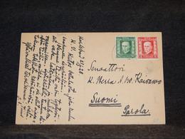 Czechoslovakia 1928 Karlsbad Postcard To Finland__(3004) - Cartas